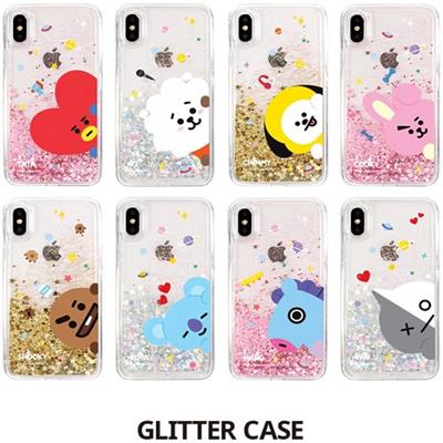 【BT21】 OFFICIAL BT21 Bangtan Product ★ iPhone Glitter Case