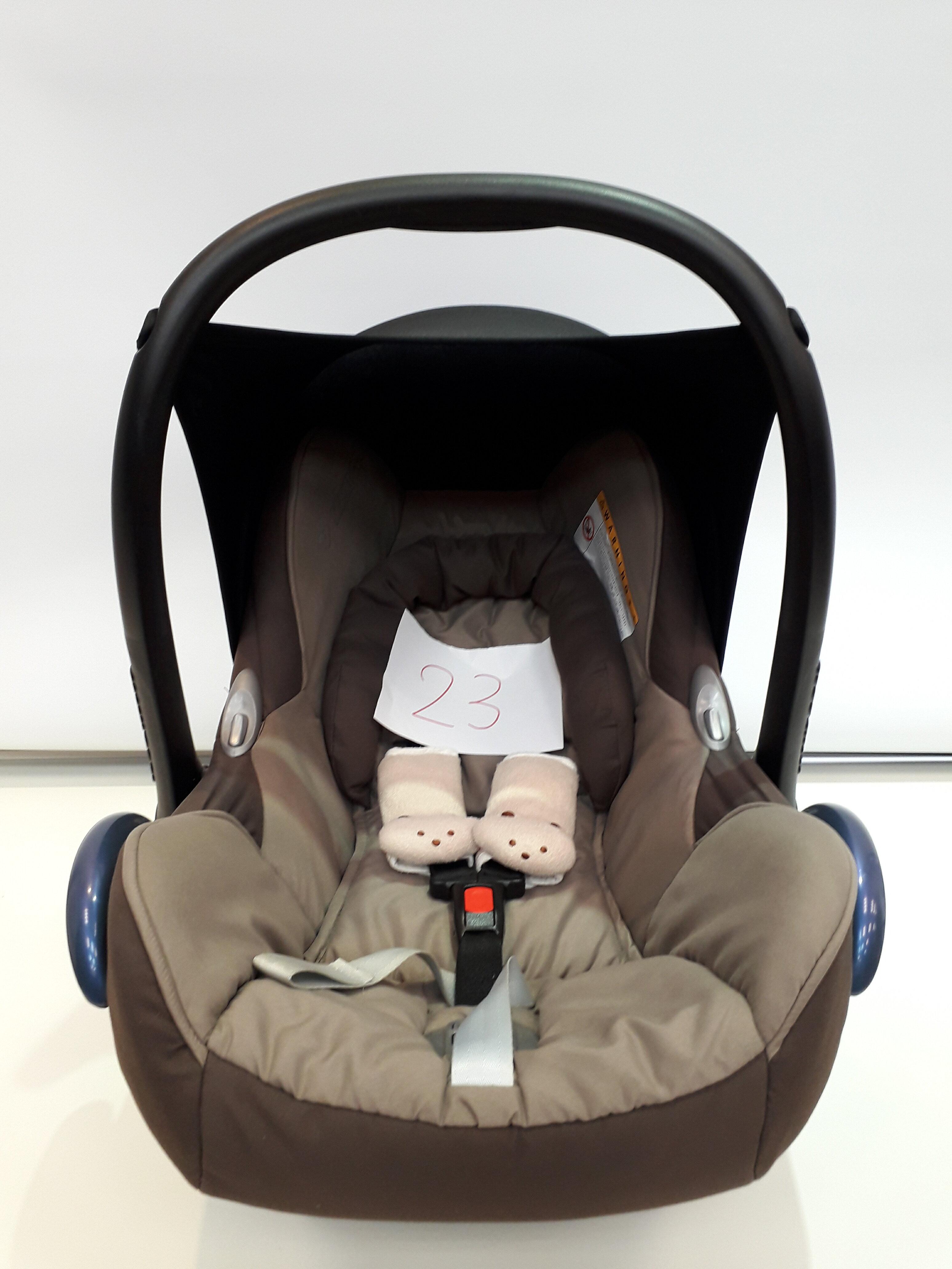 【淘氣寶寶*二手出售】編號23 荷蘭 Maxi Cosi Cabriofix 提籃汽座安全提籃/座椅
