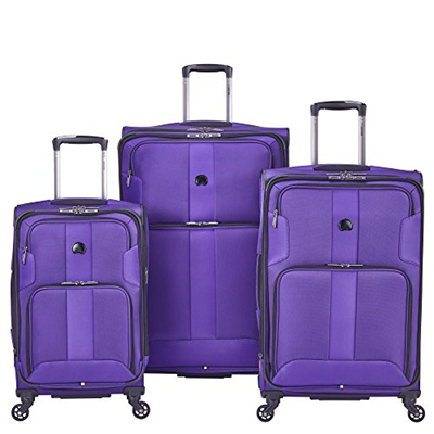 DELSEY Paris Delsey Luggage Sky Max 3 Piece Spinner Luggage Set