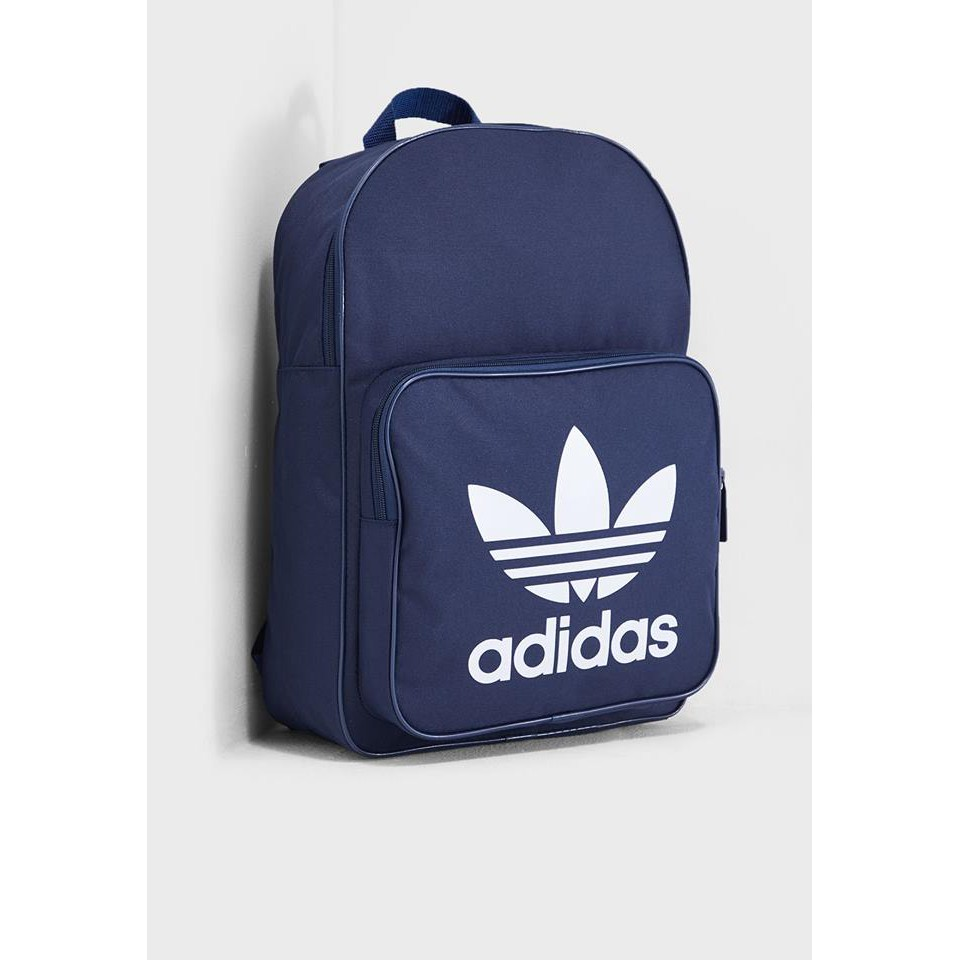 0411Adidas originals Classic Trefoil Backpack 藍色 雙肩 後背包 DW51