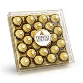 《費列羅》意大利金莎巧克力金鑽禮盒24粒(300g/盒)
