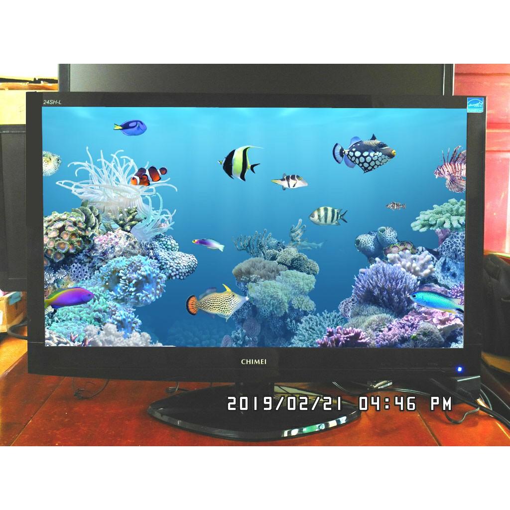奇美 CHIMEI 24SH-L24吋 LED 液晶螢幕1920x1080 HDMI/DVI/D-SUB 內建喇叭
