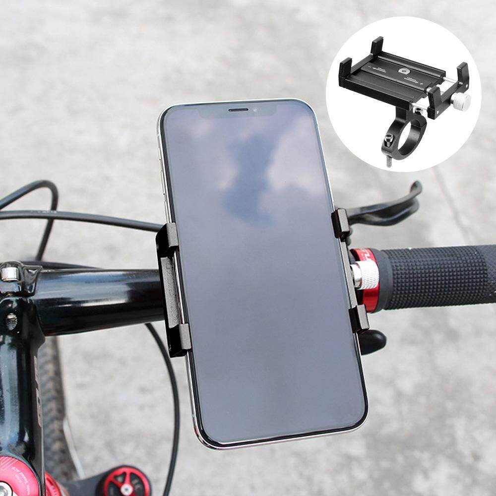 อะลูมิเนียมอัลลอยปรับได้ Handlebar ยึดที่ใส่โทรศัพท์ Bracket ใช้งานร่วมกับ Xiaomi Xiao Mi Mijia M365 Qicycle EF1 สกู๊ตเตอร์