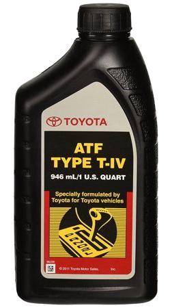 TOYOTA  ATF TYPE T-IV 4號自排變速箱油(美國)
