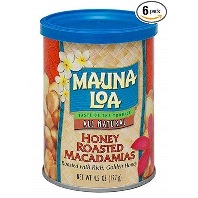 夢露萊娜夏威夷豆 果仁 蜂蜜口味/富含膳食纖維/127克/罐