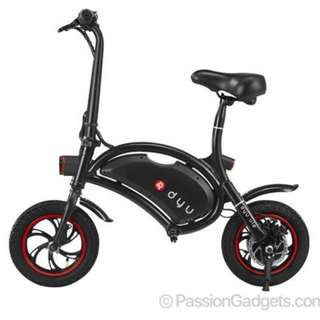 DYU Seated Electric Scooter With Child Seat (not installed)
