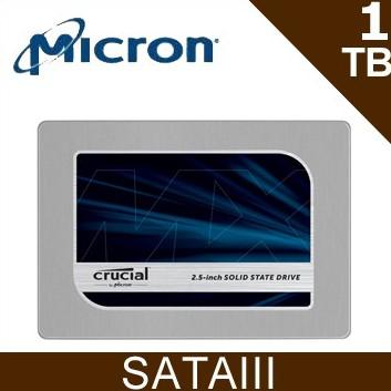 Micron Crucial 美光 MX500 1TB SATAⅢ 固態硬碟