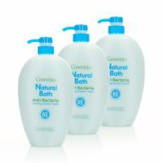 Ginvera Natural Bath Anti-Bacteria Cooling Shower Foam 1000gx3