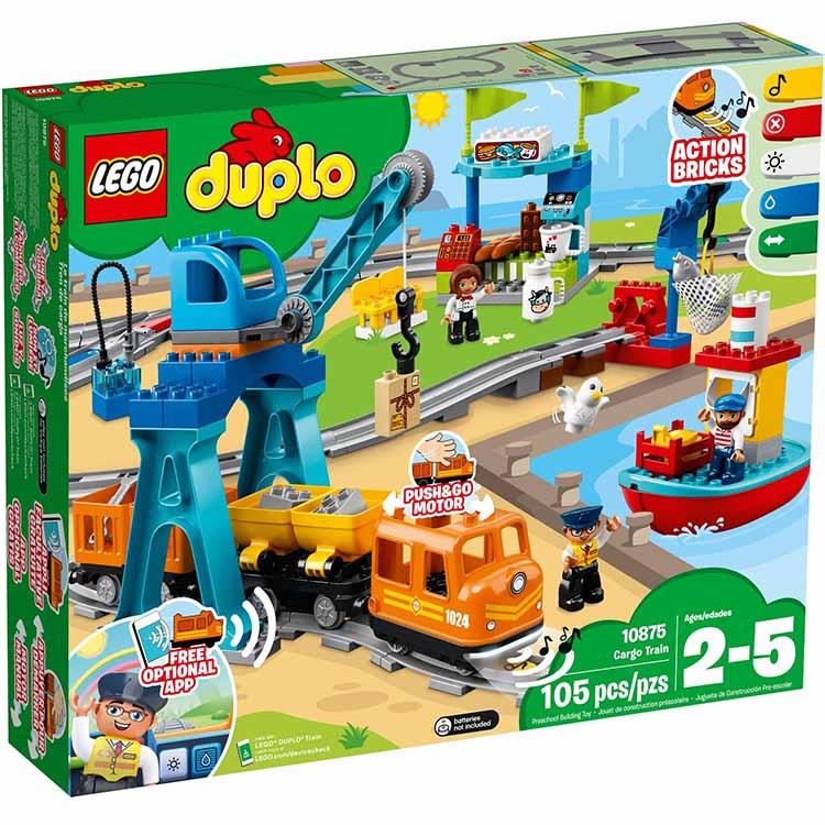 樂高LEGO 10875 Duplo 得寶系列 - 貨運列車