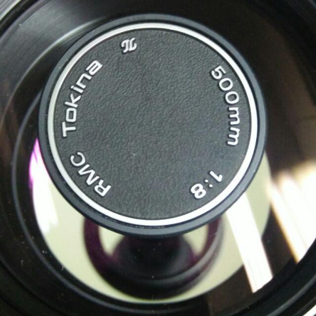台北 二手 美品 鏡頭 Tokina 500mm f8 pk 反射鏡 單眼相機