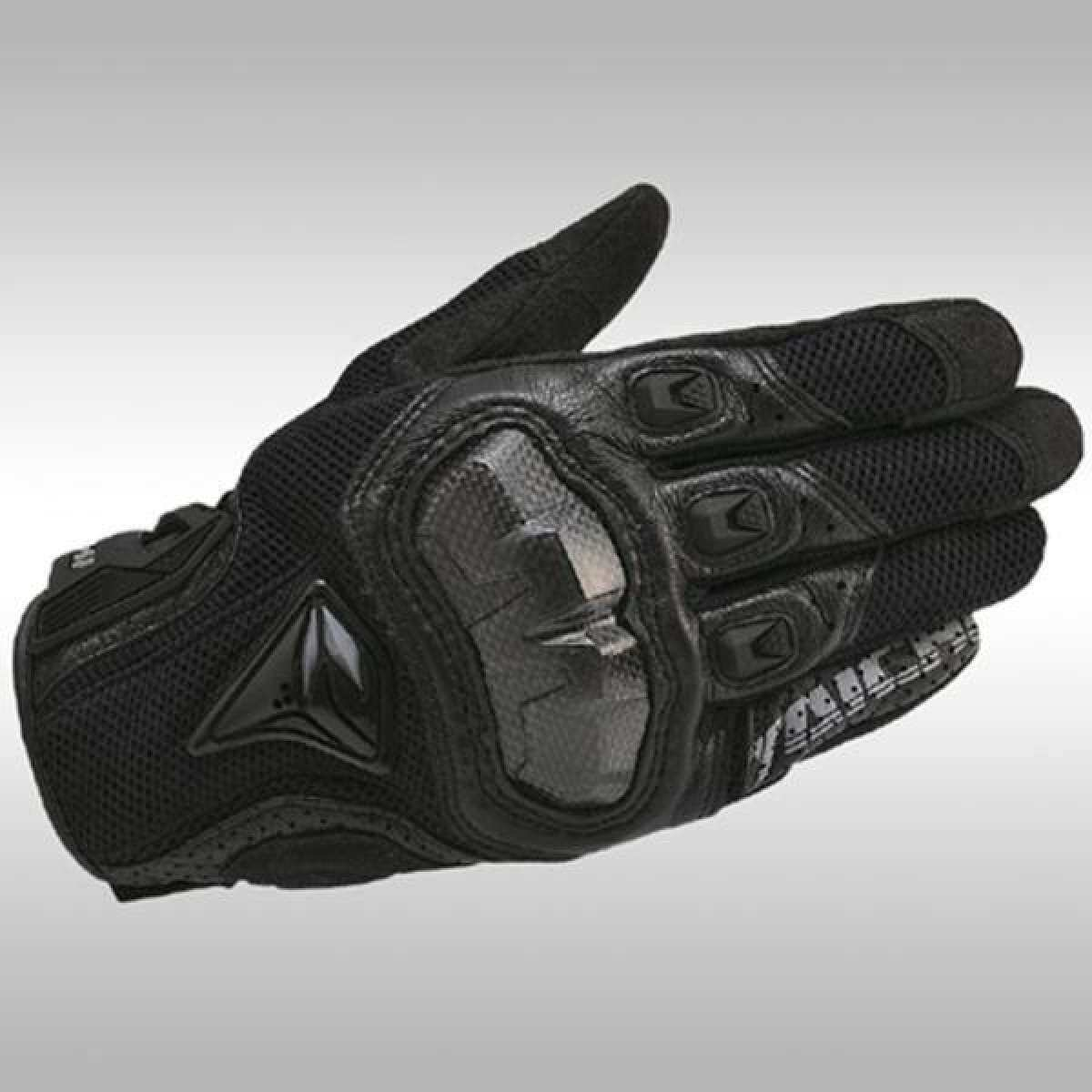 RS Taichi RST391 Mens Perforated leather Motorcycle Mesh Gloves- XL size