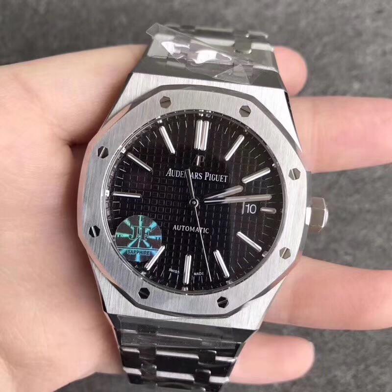 JF AP 愛彼皇家橡樹離岸系列15400 男錶 防水錶 機械錶 超強夜光  日期顯示