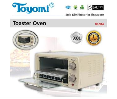 Toyomi Electric Oven (Model TO-944)