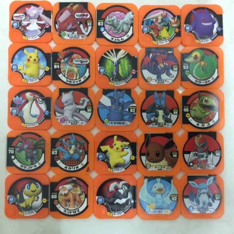 神奇寶貝 Tretta 橘p卡 塑膠保護卡套