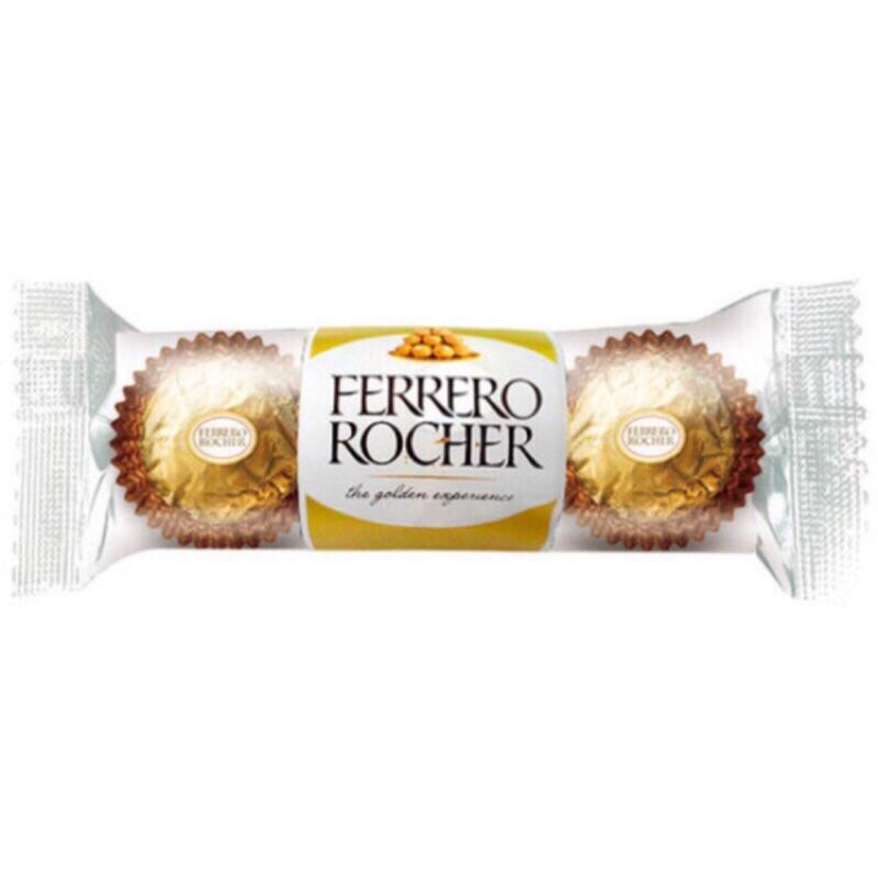 限時特價 金莎巧克力 巧克力 金莎 一包3顆 情人節 婚禮小物 零食 金莎巧克力