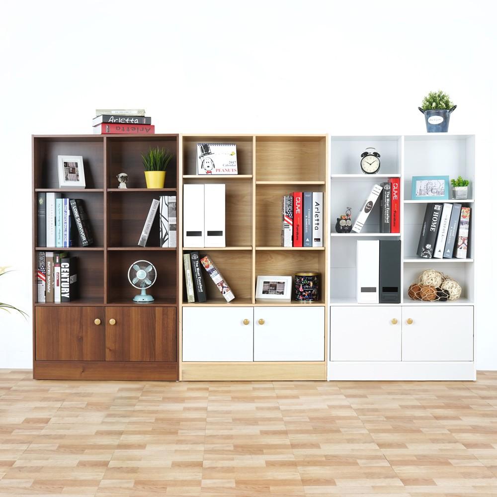[現貨] Yostyle 高爾八格二門書櫃(三色) 置物櫃 收納櫃
