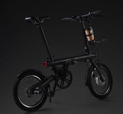 💖LOCAL SELLER💖[Original Xiaomi QiCYCLE ACCESSORIES] - EF1 Smart Bicycle - BLACK