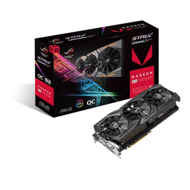 現貨 ASUS amd Radeon RX Vega 56 8G 顯示卡