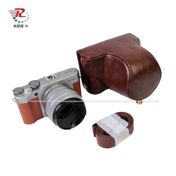 Pu Leather Camera Bag Case For FujiFilm XA5 with 18-45 Lens