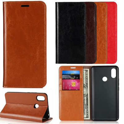 OPPO  R11 R11S R9 R9S PLUS  Genuine Leather Business  Case