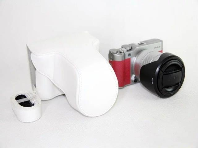 Fuji Xa5 Xa3 Xa10 Xa20 Xa2 XA1 Xm1 Camera Leather Case Mirrorless Camera Package One-Shoulder Camera Bag
