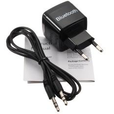 Bluetooth 3.0 Audio Aux Receptor 3.5mm Adaptador Dongle + USB Cargador Pared EU