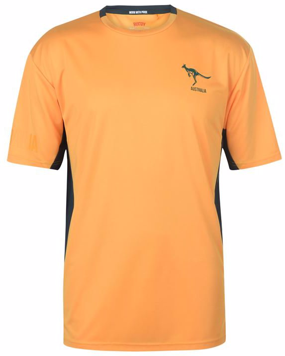 Rugby Polo T Shirt Mens