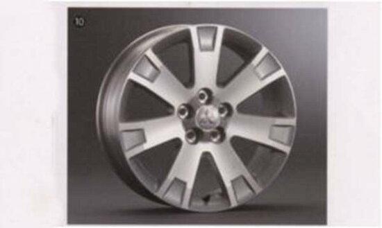 費德里卡 D:5 鋁輪圈 (18 英寸) 1 本書 * 18 英寸輪胎裝上汽車三菱原裝配件費德里卡 D:5 部分 cv9w cv5w 部分真正三菱三菱三菱真正三菱配件可供選擇 suzuki motors