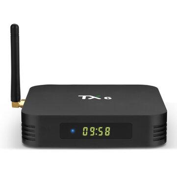 TanixTX6AllwinnerH64GBRAM 32GB ROM 5G WIFI Bluetooth 4.1 4K USB3.0 Hộp TV Android