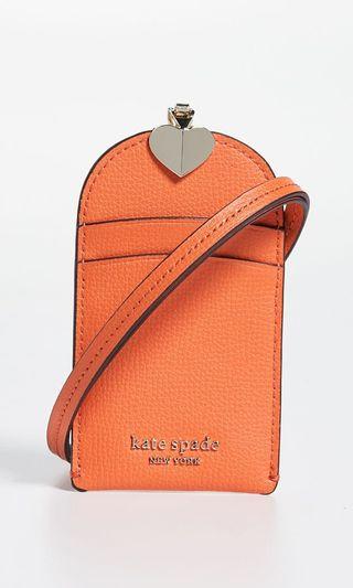 🚚 Kate Spade Juicy Orange Lanyard