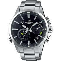 CASIO 卡西歐 EDIFICE 藍芽智慧太陽能手錶-黑 EQB-700D-1A