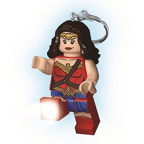 【 LEGO 樂高積木 】LED 燈鑰匙圈 - 神力女超人 (新版)