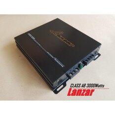 Lanzar เพาเวอร์แอมป์ 2CHขับเสียงกลางแหลม 3000W  Lanzar 2CH MOSFET รุ่น AMP-240 =1เครื่อง