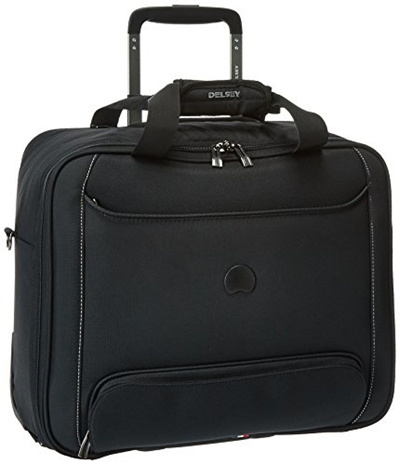 DELSEY Paris Delsey Luggage Chatillon Trolley Tote, Black