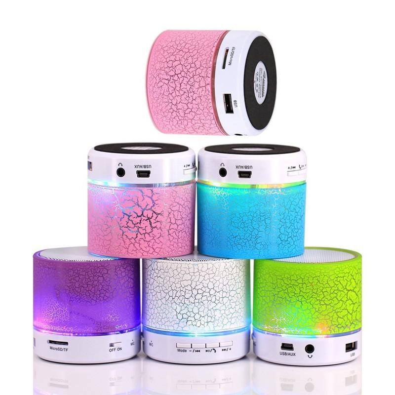 Music mini Speaker 無線 藍芽喇叭 音響 音箱 藍芽 小夜燈 七彩燈光 音樂喇叭 現貨