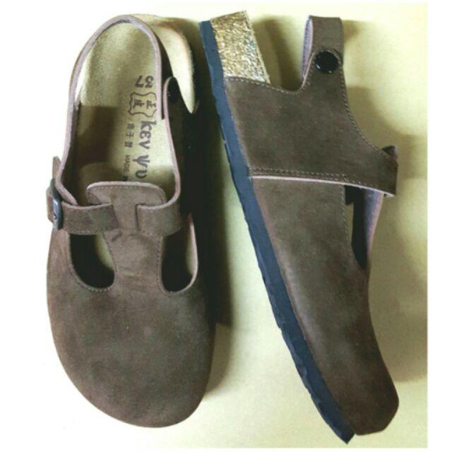 簡單簍空伯肯鞋36/37號