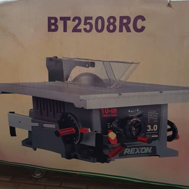 Rexon 桌上 圓鋸機 圓鋸 電鋸 木工 鐵工 BT2508 RC