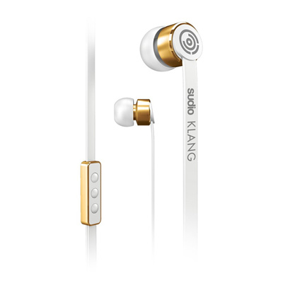 Sudio Klang earphone canal type / remote control with microphone white SD-0001 [domestic regular ite
