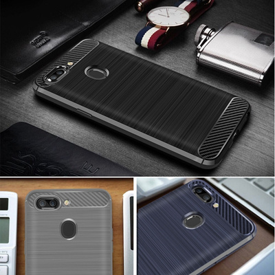 For OPPO R15 Cover OPPO R15 Case OPPO R15 Premium Original Silicone Leather Coated Protective Soft S