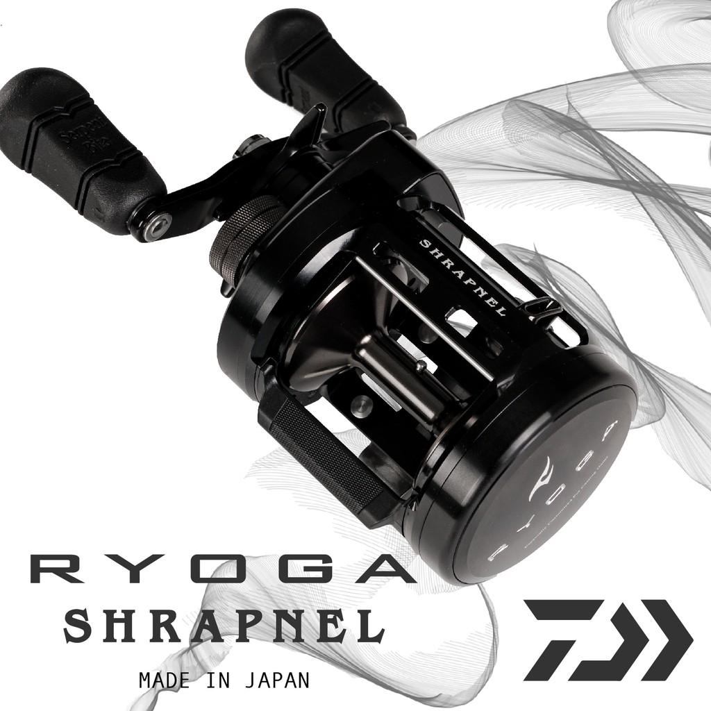 【獵漁人釣具】 RYOGA SHRAPNEL C3000HL 雙軸鼓式捲線器 淡水巨物專用 黑羊頭【E020】