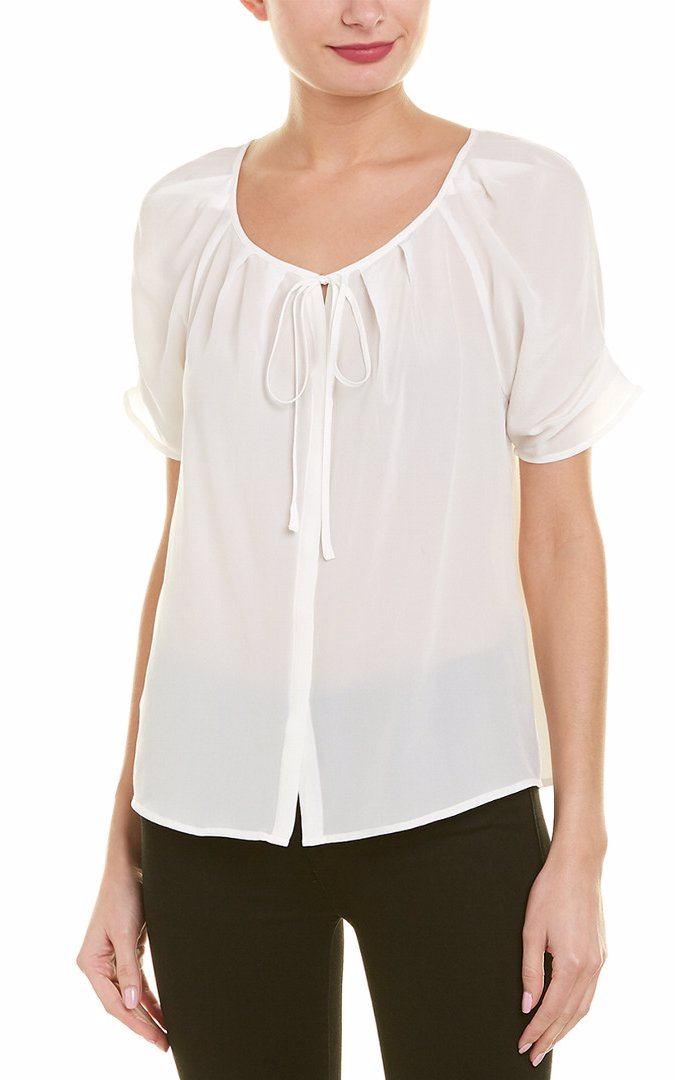 Joie Womens  Berkeley Silk Blouse