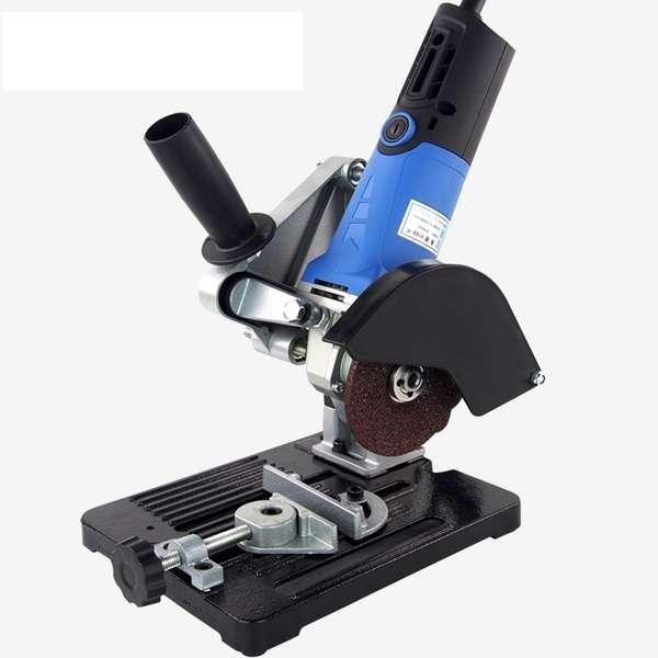 4英吋手提砂輪機 砂輪機固定架 專用切斷台座 迷你切斷機輔助座 手持砂輪機 角磨機支架 切割機支架