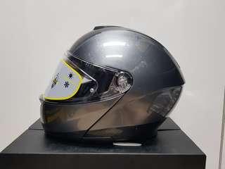 AGV Sportmodular Solid Carbon Dark Grey Helmet