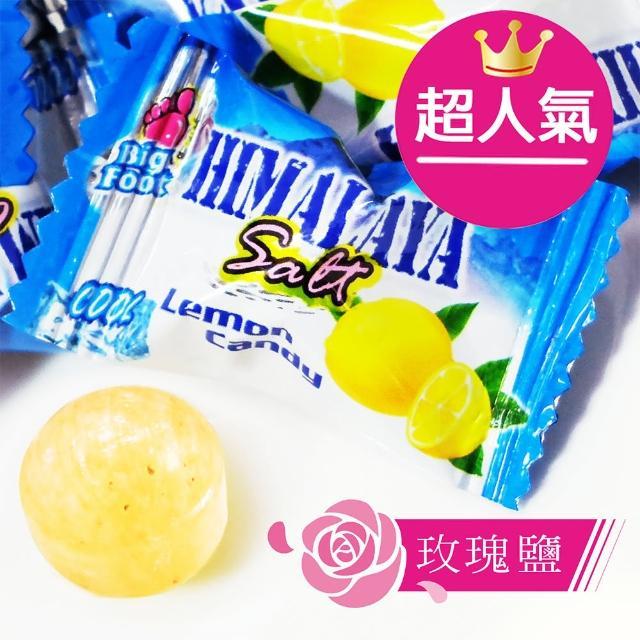 【惠香】玫瑰鹽薄荷檸檬糖80g(馬來西亞BF 喜馬拉雅山岩鹽 酸甜清涼)