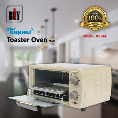 [IBuy] = TOYOMI Toaster Oven 9.0L [Model: TO 944] 100% Satisfaction / 1 Year Warranty
