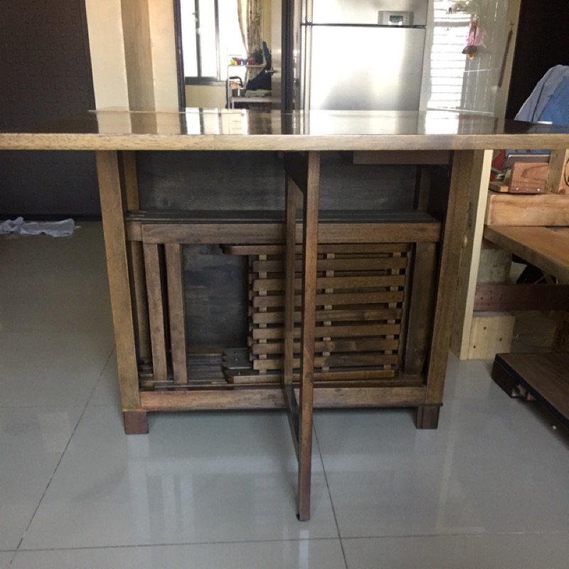 二手鳳蝶桌(折疊桌)