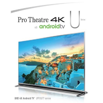 Toshiba 65U9750VM 65˝ UHD 4K ANDROID SMART TV WITH ULTRA THIN LUXURIOUS DESIGN (2018 NEW MODEL)