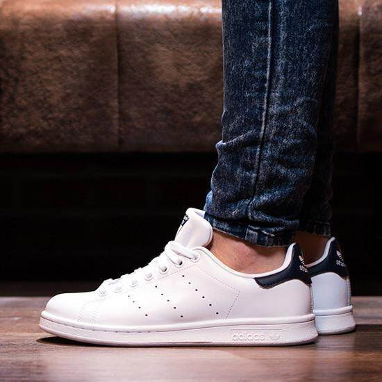 "Original Adidas Stan Smith \\\""White/Black\\\""-M20323"