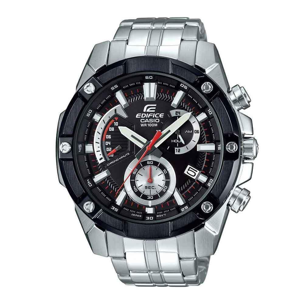 CASIO EDIFICE CHRONOGRAPH EFR-559DB-1AVUDF STAINLESS STEEL BLACK MENS WATCH