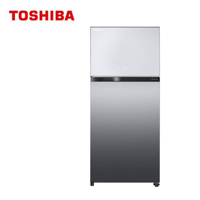 TOSHIBA 東芝 608L 變頻無邊框鏡面電冰箱 GR-AG66T(X) -贈保鮮罐三入組 SP-1803- 免運費